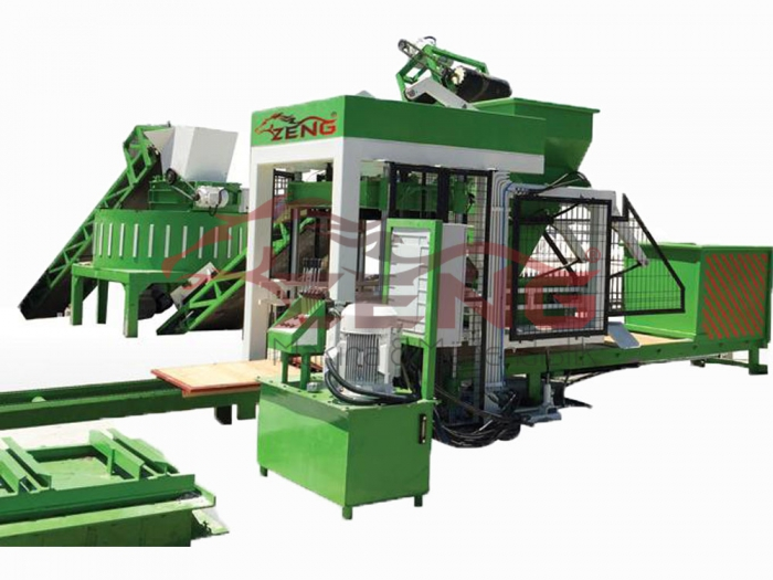 Hollow Concrete Block Brick Making Machine