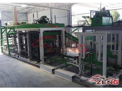 Hollow Concrete Block Brick Machine